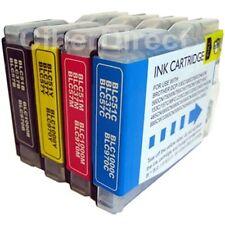 4 BROTHER LC-970 BK / C / M / Y compatibile con cartucce di inchiostro