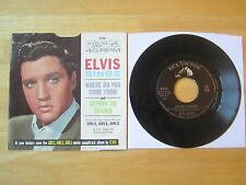 Elvis 45rpm record & Picture Sleeve, Return To Sender, RCA # 47-8100, 1962