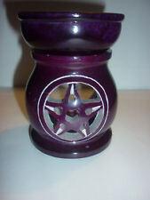 BRUCIA ESSENZE MISTICO olio diffusore PENTACOLO ohm oli essenziali wicca incenso