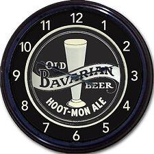 "Sunbury Ale Old Bavarian Brewery Beer Tray Wall Clock Sunbury PA Lager Brew 10"""