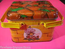 Strawberry Shortcake 1980 Vintage Steel School Lunch Box Tin Cheinco J. Chein