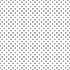 Dots Gray on White Small by RBD Designers for Riley Blake, 1/2 yd cotton fabric