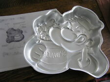 Wilton 1980 POPEYE w/ Spinach Can Cake Pan Mold #502~1719 w/ Instructions