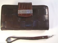 NWT Brighton Brown Leather Wallet