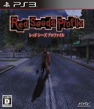 PS3 Red Seeds Profile Japan Import Game Japanese
