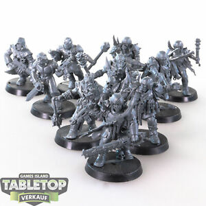 Chaos Space Marines - 10 Cultists - unbemalt