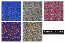 By the Metre Paisley Apparel-Dress Clothing Craft Fabrics