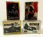 Topps Batman Series 1 & 2, Batman Returns / Deluxe Trading Card Complete Sets