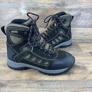 CABELAS Men's 9.5D SNOW RUNNER Winter HIKING BOOTS 83-0535 Thinsulate Brown