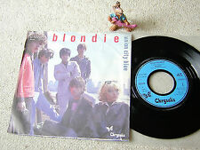 """BLONDIE Union City Blue / Living In The Real World 1979 GER 7"""" + PS CHRYSALIS"""
