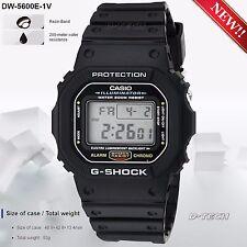 Casio DW5600E-1V Men's Sport Digital Watch G-Shock & 200 Meter Water Resistance