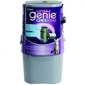 Litter Genie Plus Pail Silver