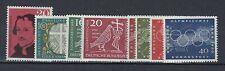 Allemagne Occidentale RFA Yv&T n° 201/08**  8 valeurs**  1960