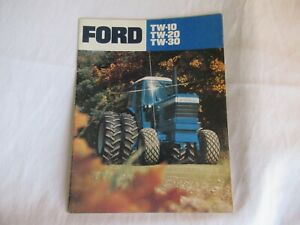 Ford TW-10 TW-20 TW-30 tractor brochure