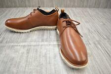 Hush Puppies Performance Expert Oxford Dress Shoes, Men's Size 8.5W, Tan NEW