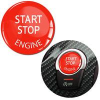 24mm Start Stop Engine Rot Reparatur Knopf Aufkleber Ersatz Schalter Für BMW