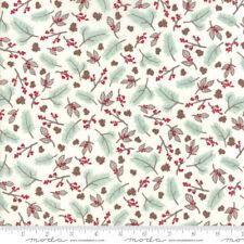 Woodland Christmas Fabric 3 yds Winters Lane Kate Birdie quilting Moda 13171-11