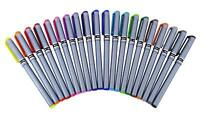 Stic Hi-Fi 20 Assorted Colour Pen Ink Fine Liner 0.5 pens set of 20 pens