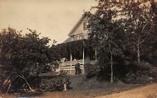 Real Photo Postcard Home in or near Boston, Massachusetts~111812