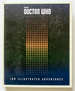 Doctor Who 100 Illustrated Adventures Hardcover BBC Art Comic Book