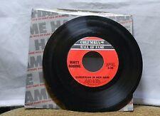 MARTY ROBBINS GARDENIAS IN HER HAIR / TONIGHT CARMEN 45 RPM RECORD