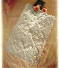 (764) Baby Knitting Pattern for Heirloom Pram Cover