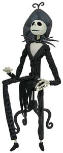 The Nightmare Before Christmas Jack w/ Chair Coffin Doll Figure Diamond Select