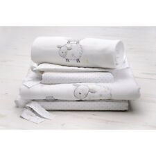 East Coast Silvercloud Counting Sheep Nursery Cot Bedding 8 Piece Set curtians