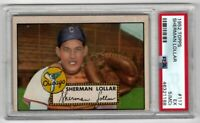 1952 Topps Baseball #117 Sherman Lollar - PSA 5 (MC)