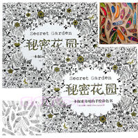 New An Inky Treasure Hunt and Coloring Book By Johanna Basford