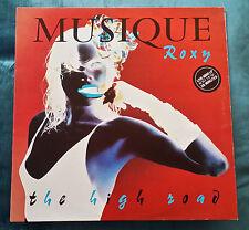 36  ROXY MUSIC (LIVE), THE HIGH ROAD (Vinyl LP - E.G. RECORDS, ITALY 1981) 09/16