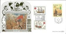 22 Carat Gold Benham FDC 401/1000 The Crusades Millennium Countdown Z7807