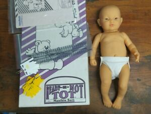 Nasco Ready or Not Tot. Realistic Baby Doll Complete MH01E11048