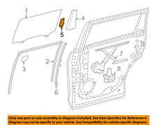 Toyota Oem Highlander Glass-Rear Door-Divider Seal Protector Left 678580E020