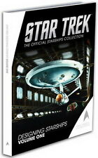 Star Trek Designing Starships Hardcover Book Vol 1 from UK/Eaglemoss- Sealed