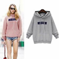 Women's Winter Autumn Hoodie Sweatshirt Hooded Jumper Sweater Tops Pullover Coat