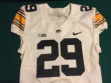 Iowa Hawkeyes Football Jersey Game Worn NIKE FLYWIRE Size 40 #29 LeShun Daniels