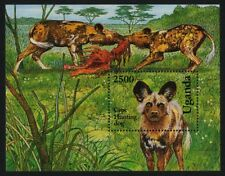 Uganda 1135-6 Mnh Dogs, Cape Hunting Dog, Norwegian Elkhound