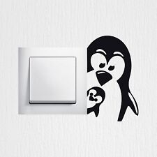 Wandtattoo Pinguine Aufkleber Mutter und Kind fun sticker