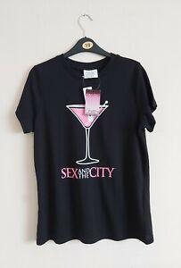 Women`s Sex And The City T Shirt. Size 10. Black T Shirt. BNWT