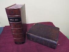 1805 Douay-Rheims Bible - 1st Am Quarto Edition Bible- Vulgate