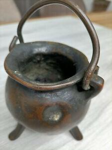Petit chaudron bronze médiéval haute époque 15 16 me siècle - Alchimiste ???