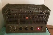 Vintage RCA Tube PA Amp Amplifier MI-12224 Guitar Powers On Untested 6L6 5U4G