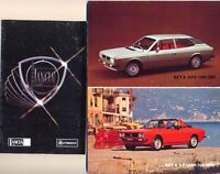 Lancia Beta Coupe Spider HPE Stratos A112 Abarth colour original sales brochure