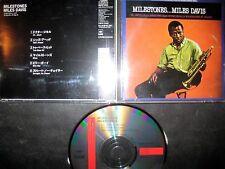 Japan CD Milestones - Miles Davis -- Jazz Hard Bop John Coltrane Freddie Hubbard
