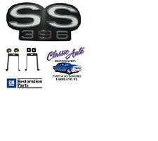"69 CAMARO ""SS 396"" EMBLEM FOR RS RALLY SPORT GRILLE EM01-692"