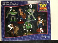 Toy Story and Beyond! Figurine Set Disney PIXAR Store Woody Buzz Bullseye 6