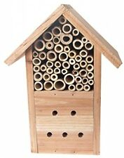Tierra Garden Mason Bee Hotel Wooden Chalet Bee Ladybug House Insect Shelter New