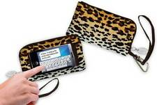 CELL PHONE WALLET LEOPARD TOUCH SCREEN TEXTING CHRISTMAS BIRTHDAY GIFTS