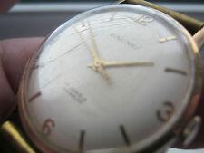 Gents vintage hallmarked  Baume 9ct gold watch .